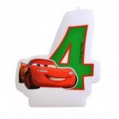Vela aniversário Cars Nº 4