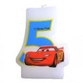 Vela aniversário Cars Nº 5