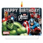 Vela aniversário Happy birthday Vingadores