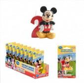 Vela aniversário Mickey 3D Nº2