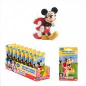 Vela aniversário Mickey 3D Nº3