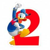 Vela aniversário Mickey Nº 2