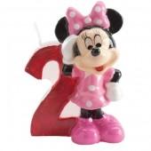 Vela aniversário Minnie 3D Nº2