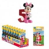 Vela aniversário Minnie 3D Nº5