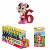 Vela aniversário Minnie 3D Nº6