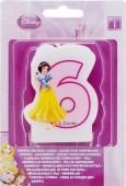 Vela aniversário Princesas Disney Nº 6