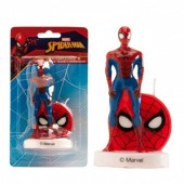 Vela aniversário Spiderman 3D