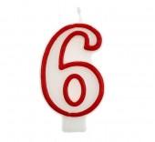 Vela Vermelha Nº 6