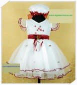 Vestido de Cerimónia para Menina Flor