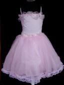 Vestido de Cerimónia para Menina Rosa
