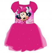 Vestido Fuscia  Festa Minnie Mouse