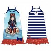 Vestido Praia Gorjuss azul