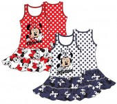 Vestido sem mangas de Minnie Mouse