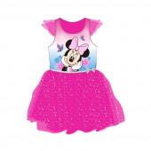 Vestido Tule Minnie Rosa
