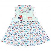 Vestido Verão Bebé Minnie Rainbow