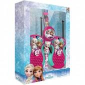 Walkie talkie + Relógio Digital Frozen Disney