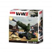 WWII 4 em 1 Army Box 76 pcs Sluban