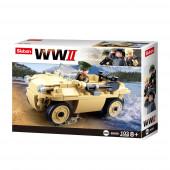 WWII VW 82 Amphibious Tub Car 106 Pcs Sluban