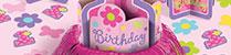 Festa de Aniversário 1º Aniversário Meninas